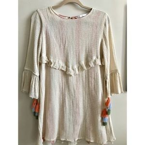 Zara Pom Pom Spring Dress